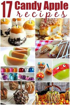 17 Creative Candy Apple Recipes