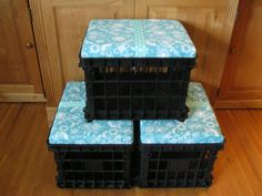 I want to make these but can't find milk crates ANYWHERE!!! i feel like a crazy person...