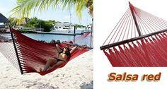 Tropic Island Salsa Red Caribbean Hammock