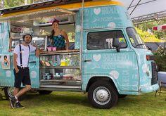 Das ruas para a festa! Food trucks e food bikes invadem os casamentos