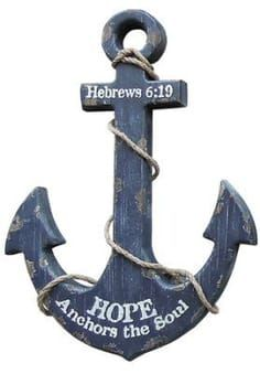 Nautical, Anchor Wall Art Wood Anchor, Nautical Anchor, Anchor Art, Nautical Style, Anchor Crafts, Coastal Style, Anchor Signs, Nautical Theme Decor, Nautical Wall Art