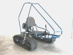 Homemade Off-Road Vehicles | Mini Tracked Vehicle