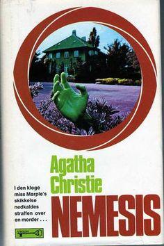 """Nemesis"" av Agatha Christie Miss Marple, Agatha Christie, Caribbean, Mystery, Reading, Books, Movies, Movie Posters, Libros"