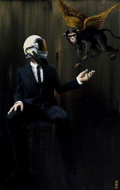 Paintings by Alec Huxley