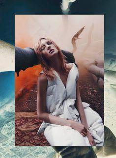 Publication: V Magazine Fall 2015 Model: Harleth Kuusik, Nastya Sten Photographer: Sølve Sundsbø
