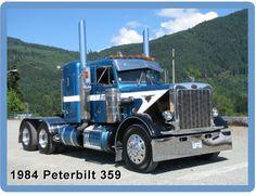 Duncan Truck Show 2013 Big Rig Trucks, Dump Trucks, Cool Trucks, Peterbilt 359, Peterbilt Trucks, Antique Trucks, Vintage Trucks, Custom Big Rigs, Custom Trucks