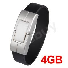 Bracelet USB 2.0 4GB 4G Flash Memory Stick Pen Drive | eBay