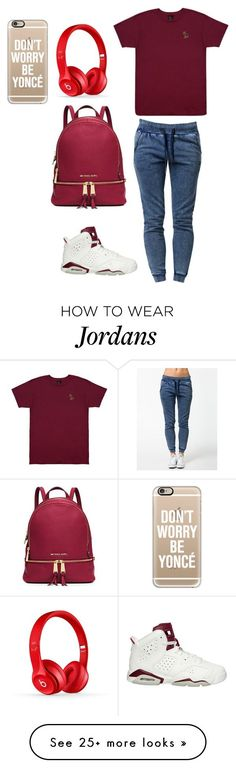 """""""Untitled #420"""" by syragotswag on Polyvore featuring October's Very Own, OnePiece, NIKE, MICHAEL Michael Kors, Casetify, women's clothing, women's fashion, women, female and woman"""