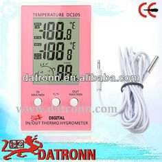 Electronic Digital thermometer and humidity meter DC105
