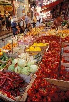 Sicily The Market...and fond memories of Cheryl yelling back at the merchants!
