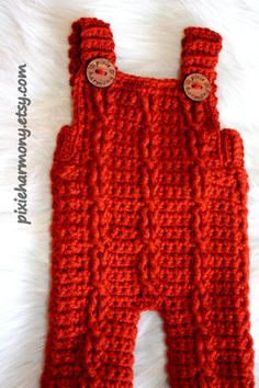 Baby Overalls  Cable Overalls  Baby Boy Girl  ANY by pixieharmony, $35.95