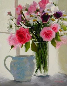 www.shirleynovak.com images Backlit_Roses__Daisies_72dpi.jpg