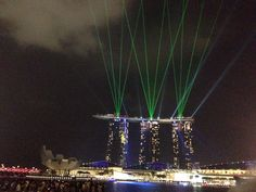 MBS Light Show Singapore