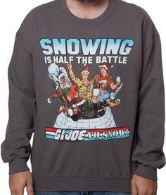 GI Joe Faux Ugly Christmas Sweater