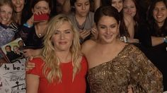 Kate Winslet and Shailene Woodley DIVERGENT World Premiere #Tris #Jeanine
