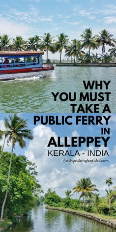 best things to do in kerala with alleppey ferry. Backpacking india trip planning tips. outdoor travel destinations on a budget with culture and beautiful places to visit in incredible india. Kerala India, South India, India Asia, Kerala Travel, India Travel, Travel Nepal, Beautiful Places To Visit, Cool Places To Visit, Sri Lanka