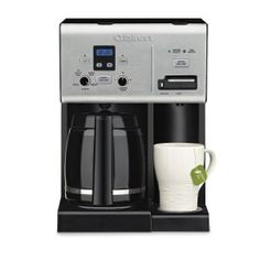 Making coffee manually is an easy task and making coffee using an appliance like the Cuisinart Coffee Plus 12-Cup Programmable Coffeemaker and Hot Water System CBCW-24SA is even easier. It needs practically zero effort from us.