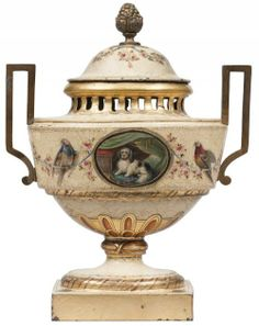 Les Arts Décoratifs - Site officiel - Diaporama - Cassolette attribuée à la Manufacture de la veuve Gosse et Samousseau, Paris, vers 1770 -1780