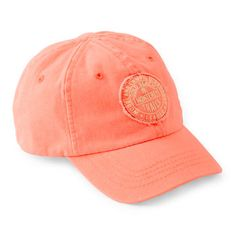 Boy's Orange Baseball Cap from Carter's. He'll be easy to spot, on or off the field, in this cute baseball hat that has an adjustable back for the perfect fit.