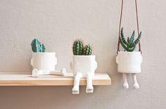 Sitting Plant Pots designed by Wacamole