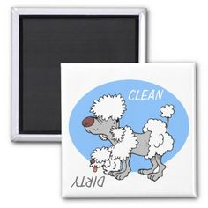 ">>>Hello          	""CLEAN / DIRTY"" Cartoon Poodle Dishwasher Magnet           	""CLEAN / DIRTY"" Cartoon Poodle Dishwasher Magnet We provide you all shopping site and all informations in our go to store link. You will see low prices onShopping          	""CLEAN / DIRTY&qu...Cleck Hot Deals >>> http://www.zazzle.com/clean_dirty_cartoon_poodle_dishwasher_magnet-147243101891445552?rf=238627982471231924&zbar=1&tc=terrest"