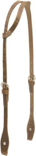 Billy Cook Saddlery Half Sliding Ear Headstall-Harness-Horse