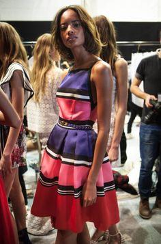 ELIE SAAB Backstage|Ready-to-Wear Spring Summer 2016