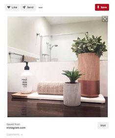 Bathroom Decor kmart best ever Kmart hacks on - bathroomdecor Kmart Bathroom, Laundry In Bathroom, Bathrooms, Kmart Home, Kmart Decor, Marble Board, Bathroom Styling, Bathroom Inspiration, Bathroom Inspo