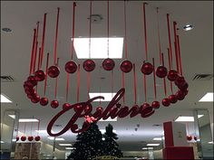 "Another of the many creative Visual Merchandising interpretations of the Macys® ""Believe"" Holiday tagline. I do not know if a single person is responsible for all, each store creates its own, or he..."