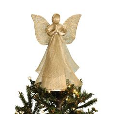 Taraluna - Fair Trade, Organic, Green & Ethical Gifts Heavenly Abaca Angel Ornament, Decoration or Tree Topper Diy Christmas Angel Tree Topper, Christmas Tree Decorations Ribbon, Xmas Tree Toppers, Diy Tree Topper, Christmas Tree Tops, Diy Christmas Ornaments, Christmas Angels, Christmas Balls, Diy Angels