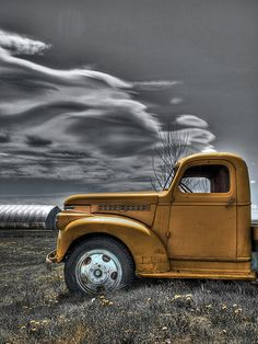 Yellow Truck HDR