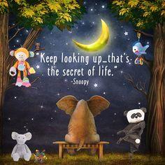 Keep looking up :)