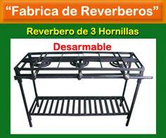Fábrica de Reverbero Industriales a gas con y sin plancha – Mayor y Detal - Zulia Venezuela http://zuliaprensa.blogspot.com/2014/02/fabrica-de-reverbero-industriales-gas.html