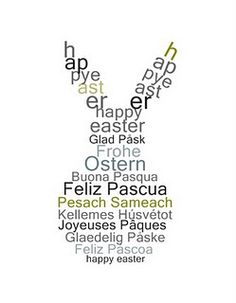 All the international ways to say Happy Easter. Buona Pasqua is Happy Easter in Italian. Hoppy Easter, Easter Bunny, Easter Eggs, About Easter, Easter Crafts, Easter Decor, Easter Ideas, Wells, Sayings