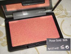 Sleek Rose Gold Blush.  One of my all time favs!
