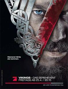 Vikings: Deutsches Poster Staffel 1