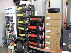 If you received some Christmas cash, and it's burning a hole in your pocket, then come see us! We've got all sorts of fun toys waiting for you in our showrooms, including components from Apline, Diamond, JL Audio, Kicker, Sirius, Kenwood, Audiovox and more! Our Beavercreek and West Carrollton/Moraine locations are open until 7:00pm today (Saturday, December 26) and will also be open tomorrow (Sunday, December 27) from noon to 6:00pm. Extended holiday hours continue through December 30.