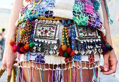 Crazy colourful belt!