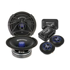 """SoundStream 6.5"""" Pro Audio Components w/ Tweeters-Crossovers (Pair) 200w 4 Color Changeable  Price: & FREE Shipping 3 Year Warranty on Android units!!! #caraudio"""