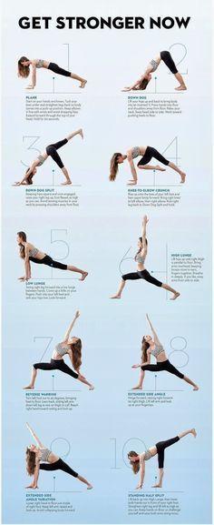 Yoga. Uma coisa que eu quero muito começar a fazer. ;)