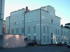 Factory building by Harald Andersin 1915. Oulu, Northern Ostrobothnia - Pohjois-Pohjanmaa - Norra Österbotten.