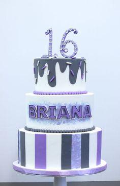 Sweet 16 Cakes | Patisserie Tillemont | Montreal - Brianna's Purple