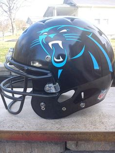 nike nfl jersey New Nike NFL Uni's out tomorrow! This is the new Panthers Helmets! SIC WID IT! nfl jersey by nike Nfl Football, American Football, Football Helmets, Carolina Blue, North Carolina, Carolina Panthers Helmet, Sports Uniforms, Sports Teams, Sports Logos