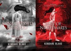 Anna dressed in blood BY Kendare Blake        ( scary book ) jajaajja