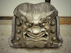 """天龍寺の鬼瓦 """"Demon Tile of Tenryu Temple //Kyoto, JAPAN"""" #japan #kyoto"""