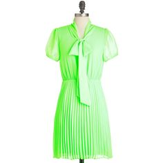 Neon a Whim Dress ($37) ❤ liked on Polyvore