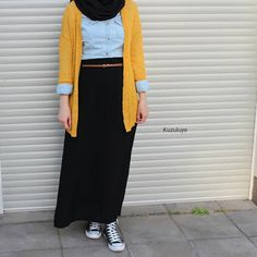 9 Best Hijab Styles With Jeans For Chic Dressing - 9 best hijab styles with jeans for a chic dressing - hijab fashion and chic style Hijab Casual, Hijab Chic, Modern Hijab Fashion, Muslim Fashion, Long Skirt Hijab, Dressing Chic, Hijab Stile, Hijab Fashionista, Fashion Outfits