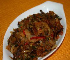 Caribbean Fried Smoked Herring