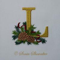 Winter Pines- L