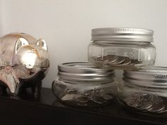Through the process of implementing the jar system with my kids I have also rekindled my own sense of financial accountability. When I hear words come out of my mouth around making spending choices rather than impulsively buying that thing that looks so good at the time it allows me to wake up and be more conscious about my own expenditures. It really is true, that in the process of helping others you are truly helping yourself. It is such a gift to be able to learn these lessons through…